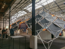 Beautiful Design Structure with Panel at Exhibition